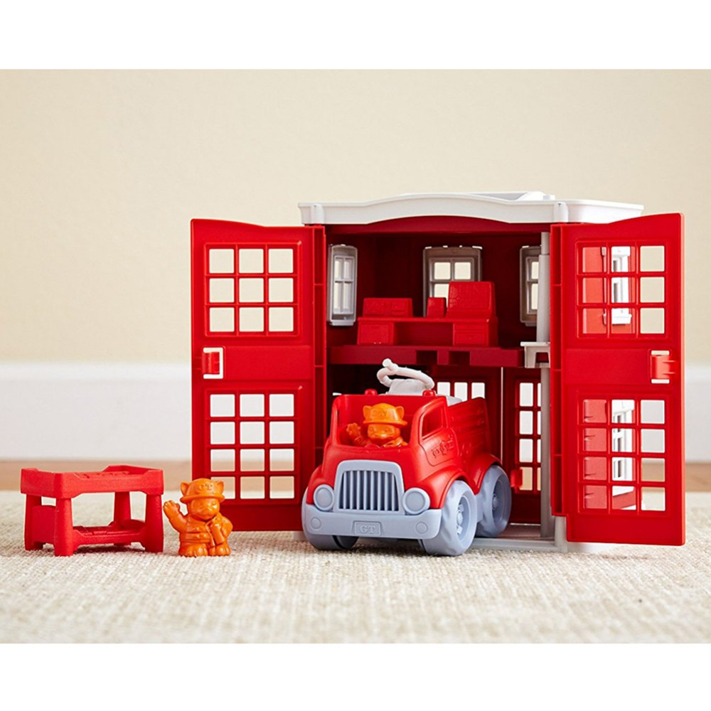 Alternate Image #2 of Green Toys™ Fire Station and Fire Truck Playset
