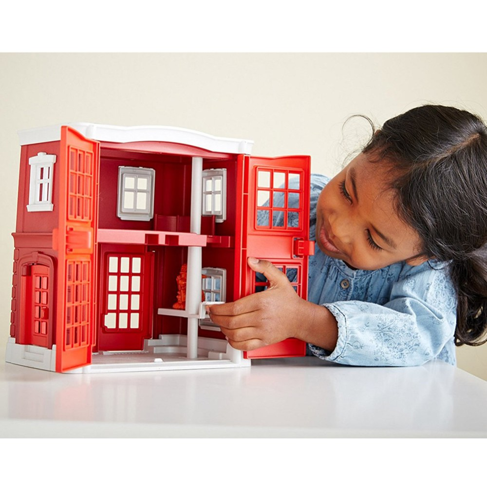 Alternate Image #5 of Green Toys™ Fire Station and Fire Truck Playset