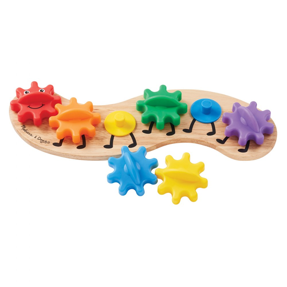 Alternate Image #4 of Rainbow Caterpillar Gear Toy