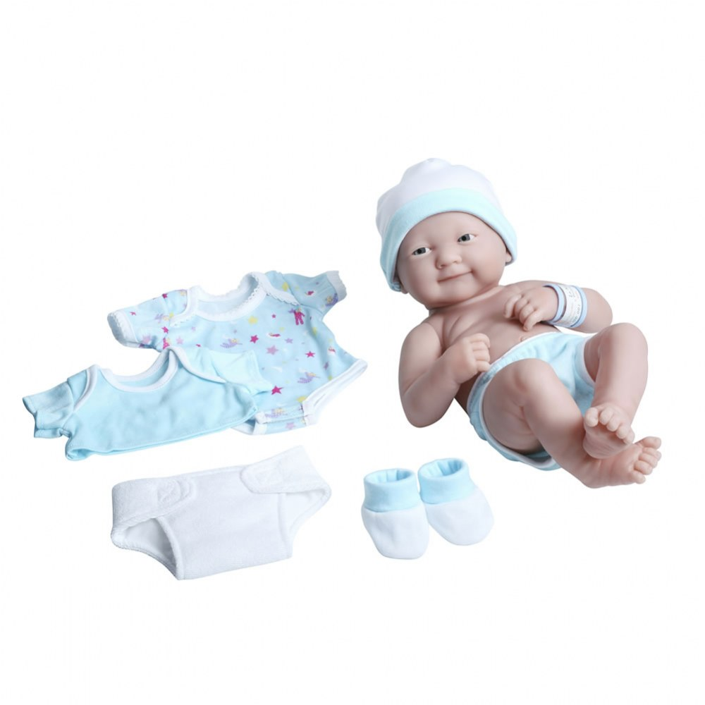 "14"" La Newborn® Deluxe Layette Doll Set - Blue"
