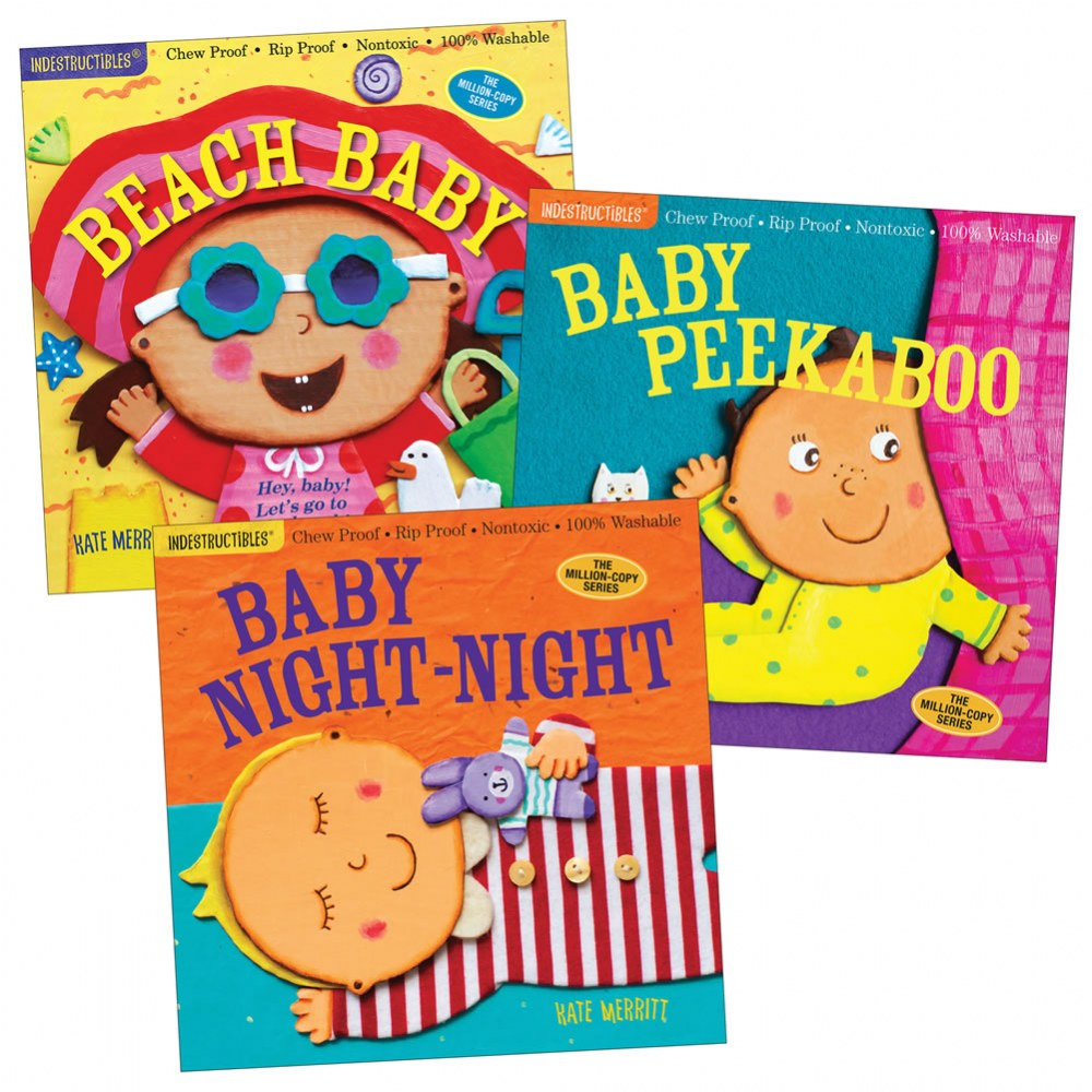 Indestructibles® Baby Books - Set of 3