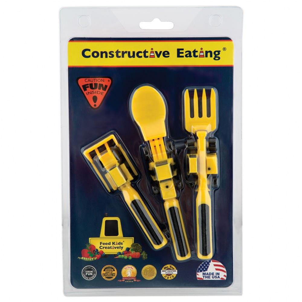 Alternate Image #6 of Constructive Eating Construction Themed Meal Accessories