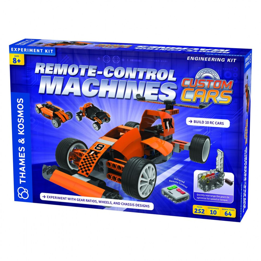 RC Machines: Custom Cars Engineering® Kit - 252 Pieces