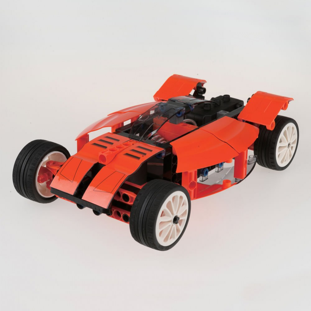Alternate Image #1 of RC Machines: Custom Cars Engineering® Kit - 252 Pieces