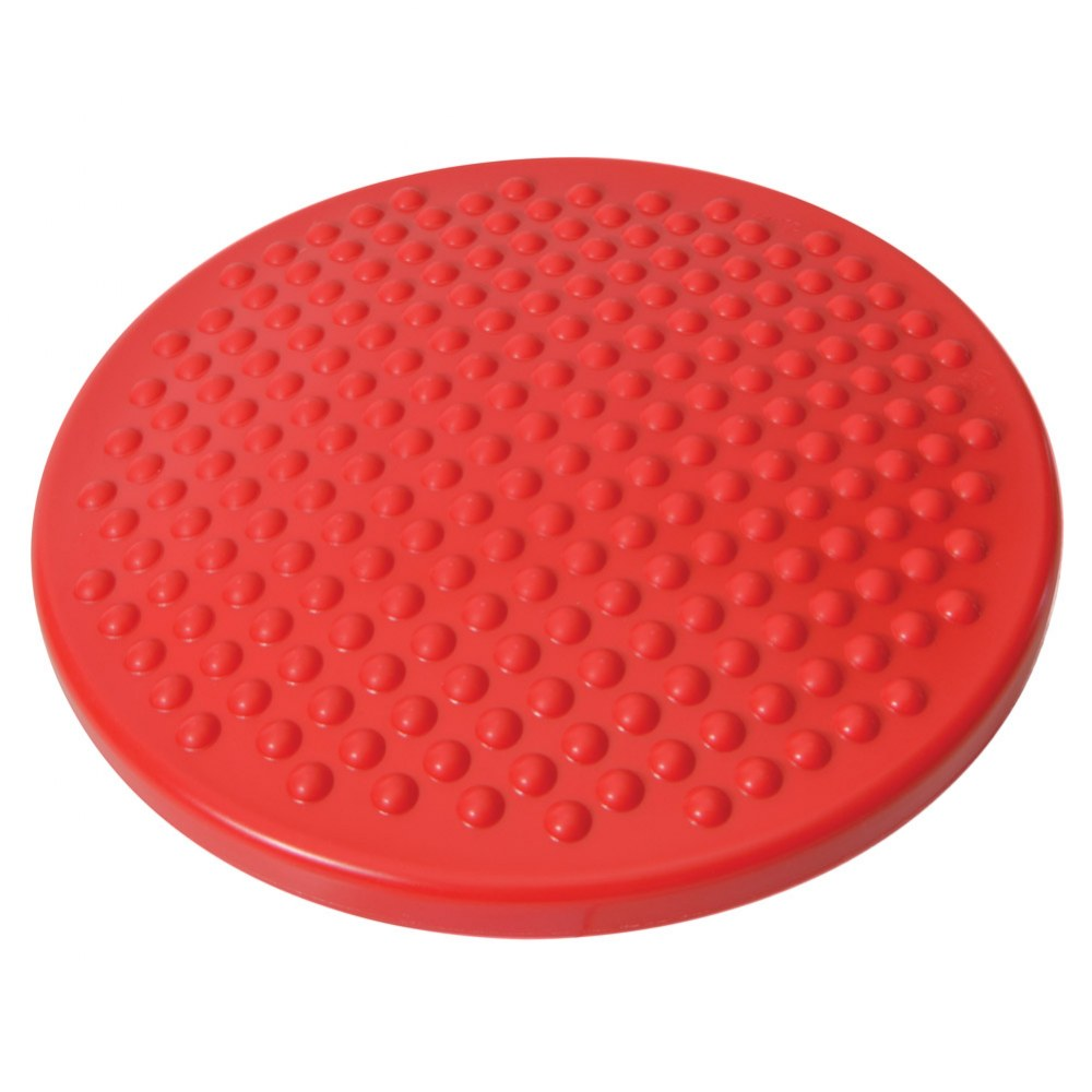 Alternate Image #1 of Gymnic Disc 'o' Sit Jr. Air Cushion - Red