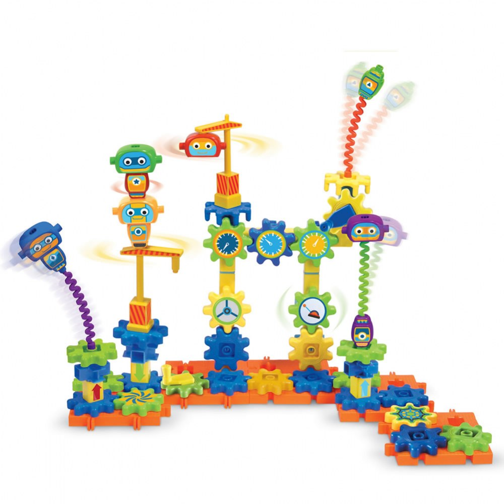Alternate Image #1 of Gears! Gears! Gears!® Robot Factory STEM Set (Set of 79)