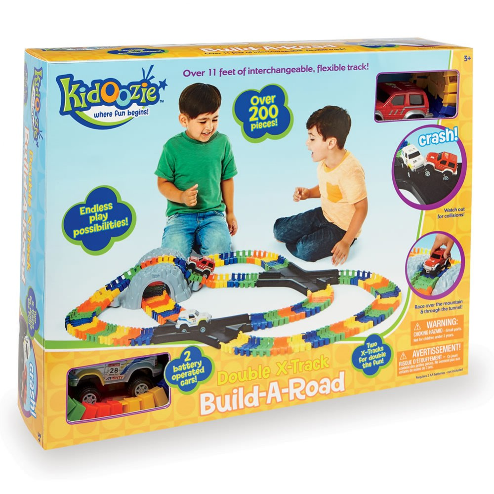Alternate Image #6 of Kidoozie™ Double X Track Build-A-Road