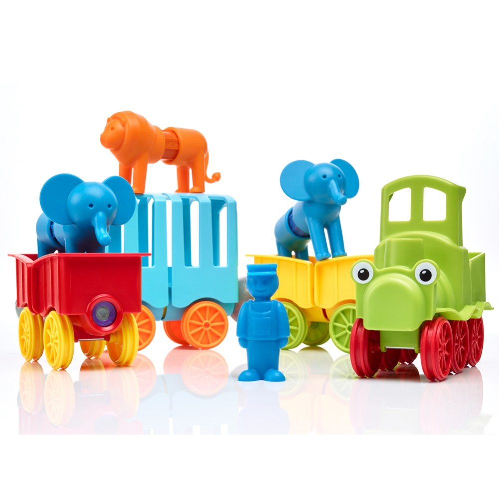 Alternate Image #1 of Smartmax® My First Animal Train Set - 25 Pieces