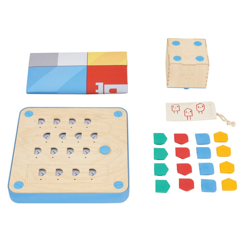 Alternate Image #1 of Primo™ Cubetto Children's Programmable Robot 20 Piece Playset