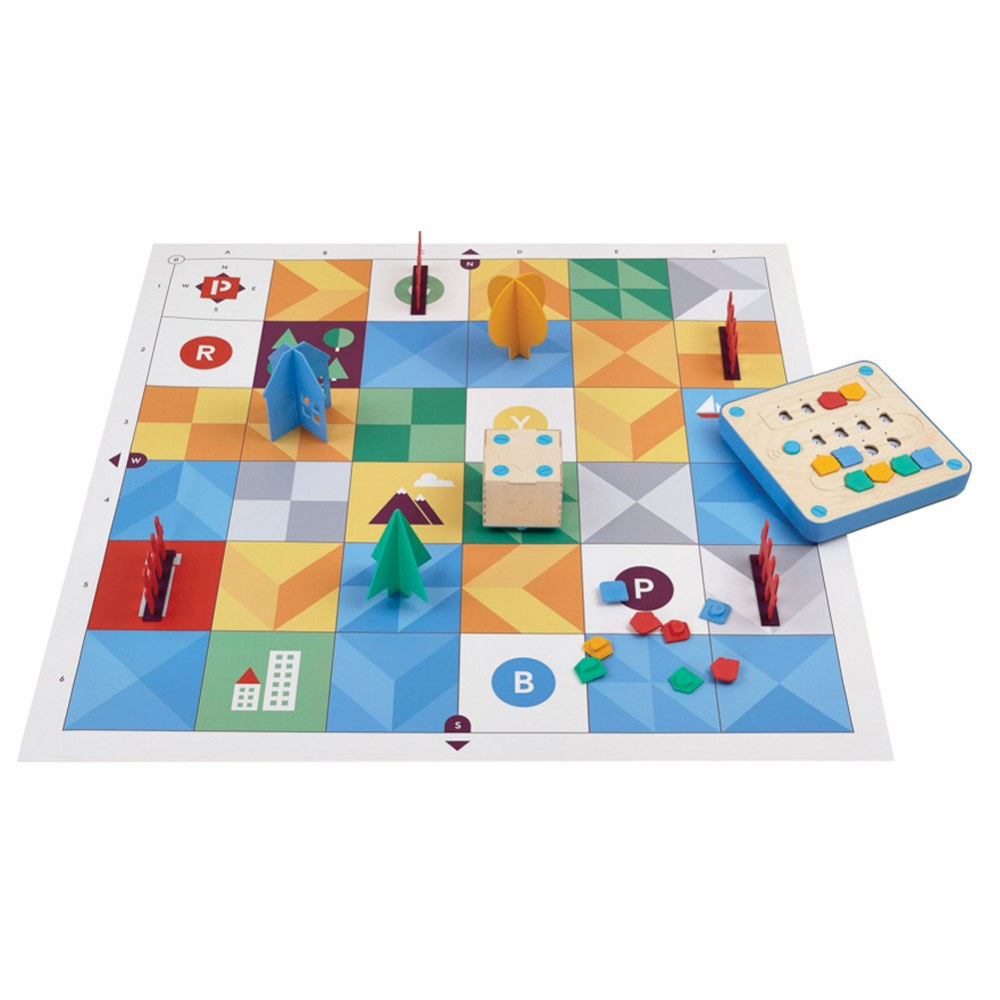 Alternate Image #3 of Primo™ Cubetto Children's Programmable Robot 20 Piece Playset