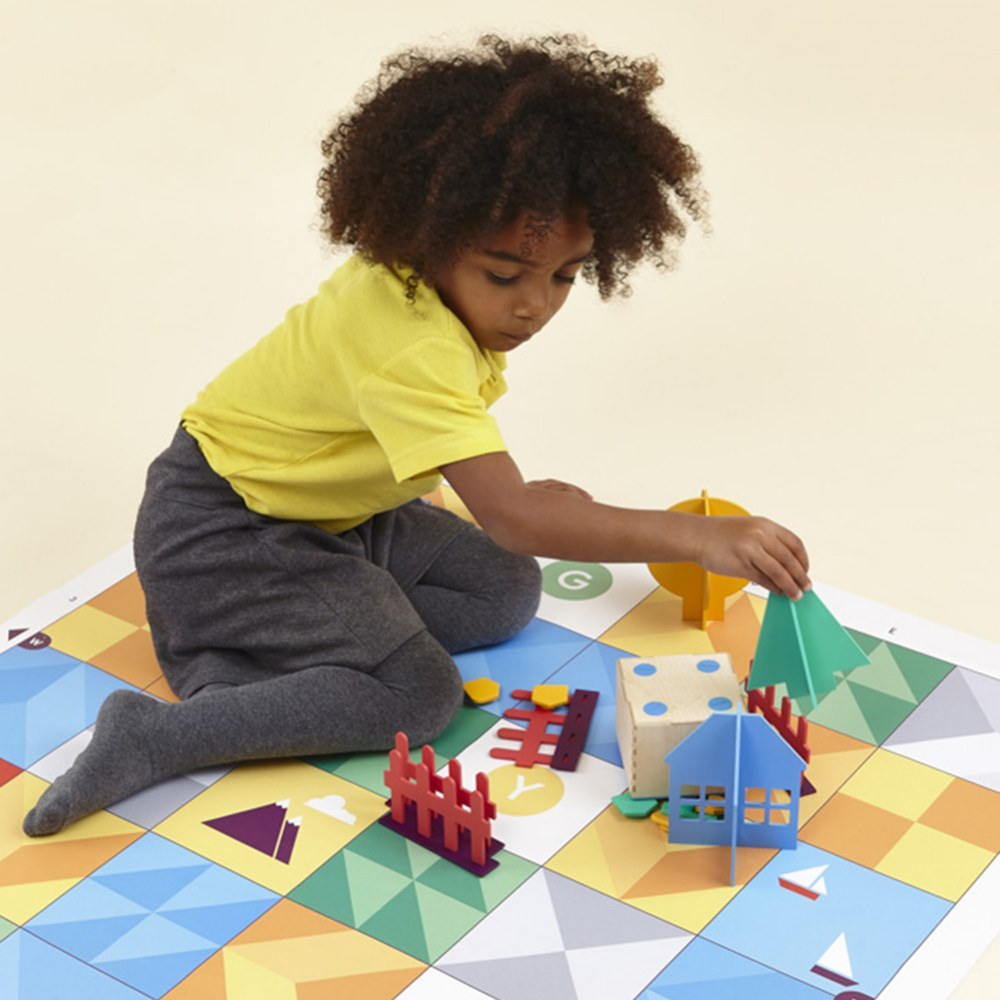 Alternate Image #6 of Primo™ Cubetto Children's Programmable Robot 20 Piece Playset