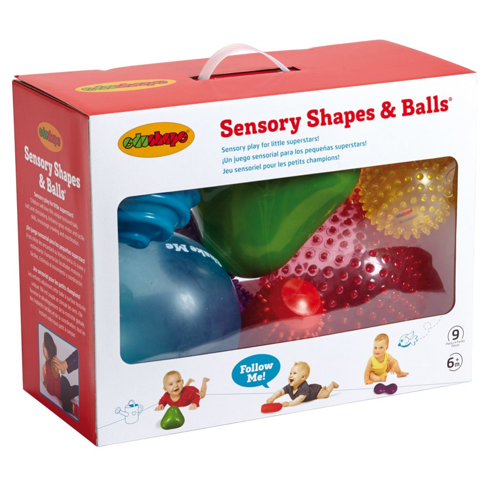 Alternate Image #2 of Sensory Balls - Set of 9