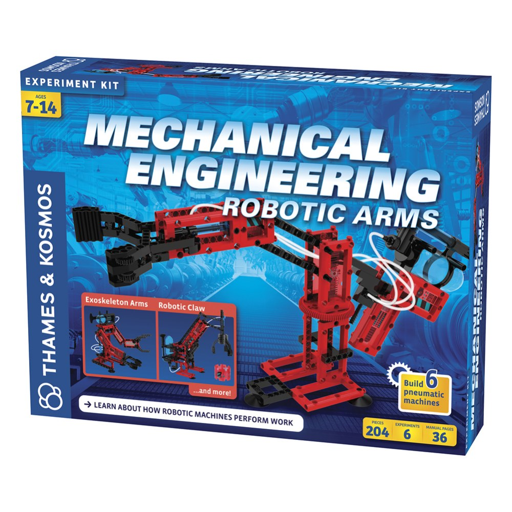 Alternate Image #8 of Mechanical Engineering: Robotic Arms Kit