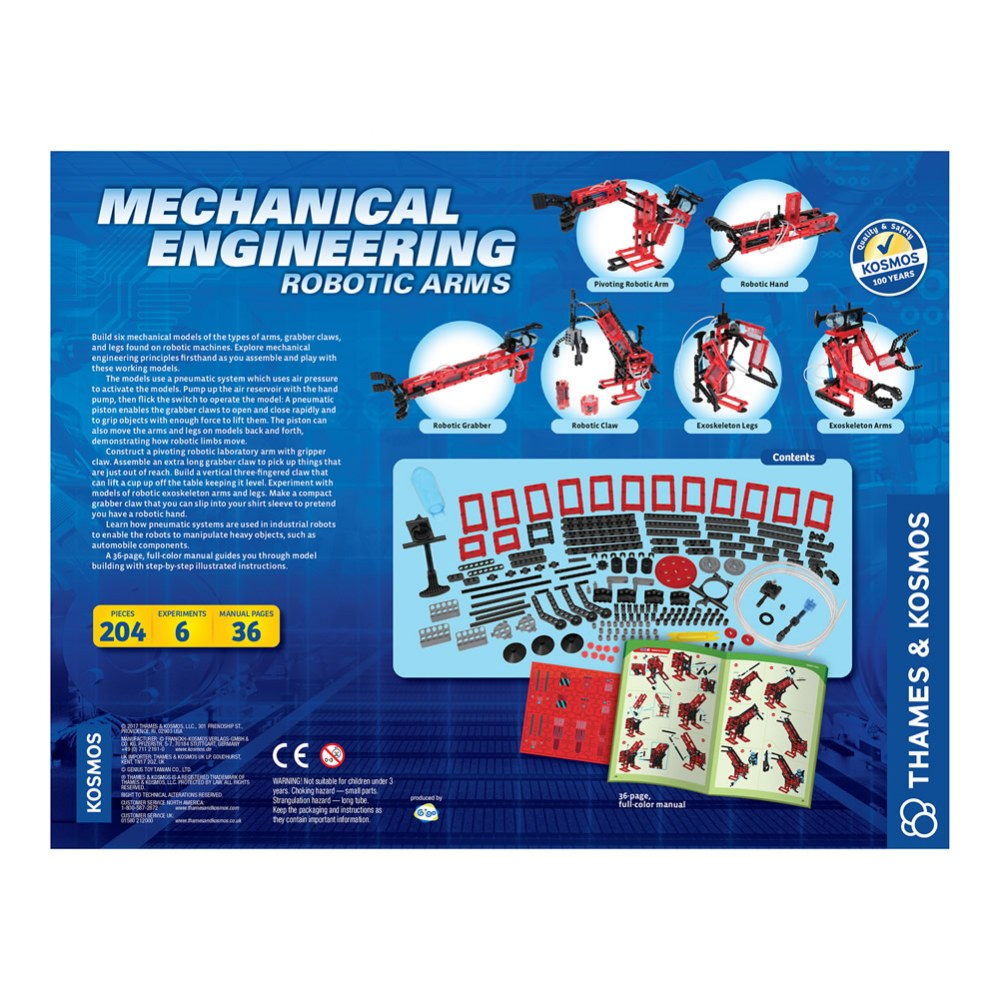 Alternate Image #9 of Mechanical Engineering: Robotic Arms Kit