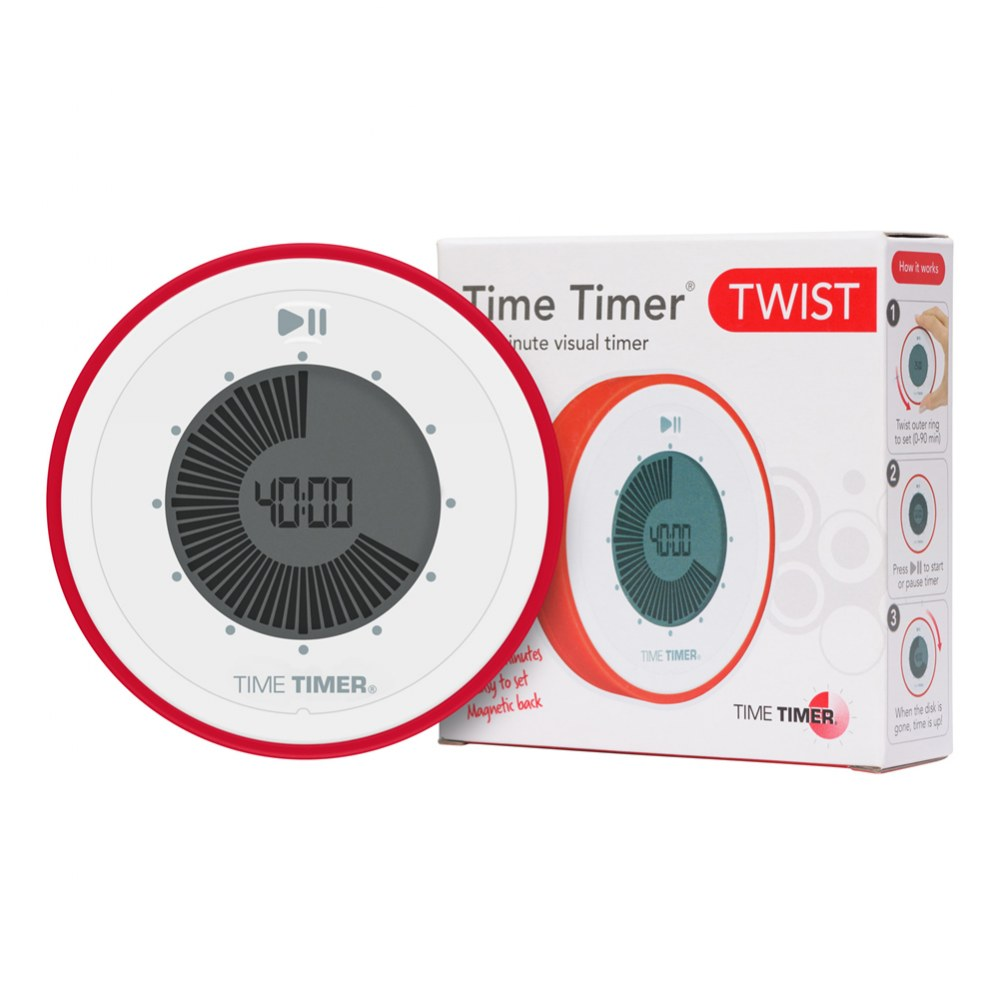 Time Timer® TWIST 90 Minute Visual Digital Timer