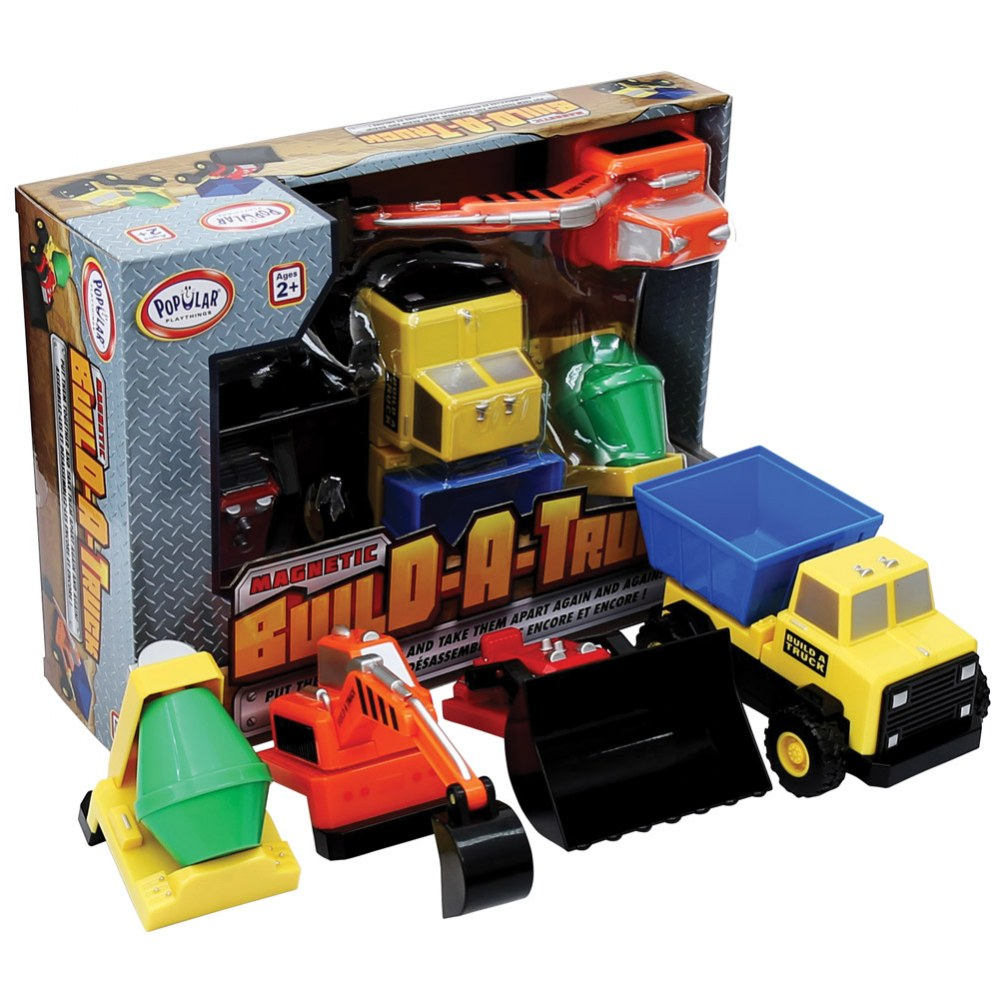 Mix or Match: Build-A-Truck®