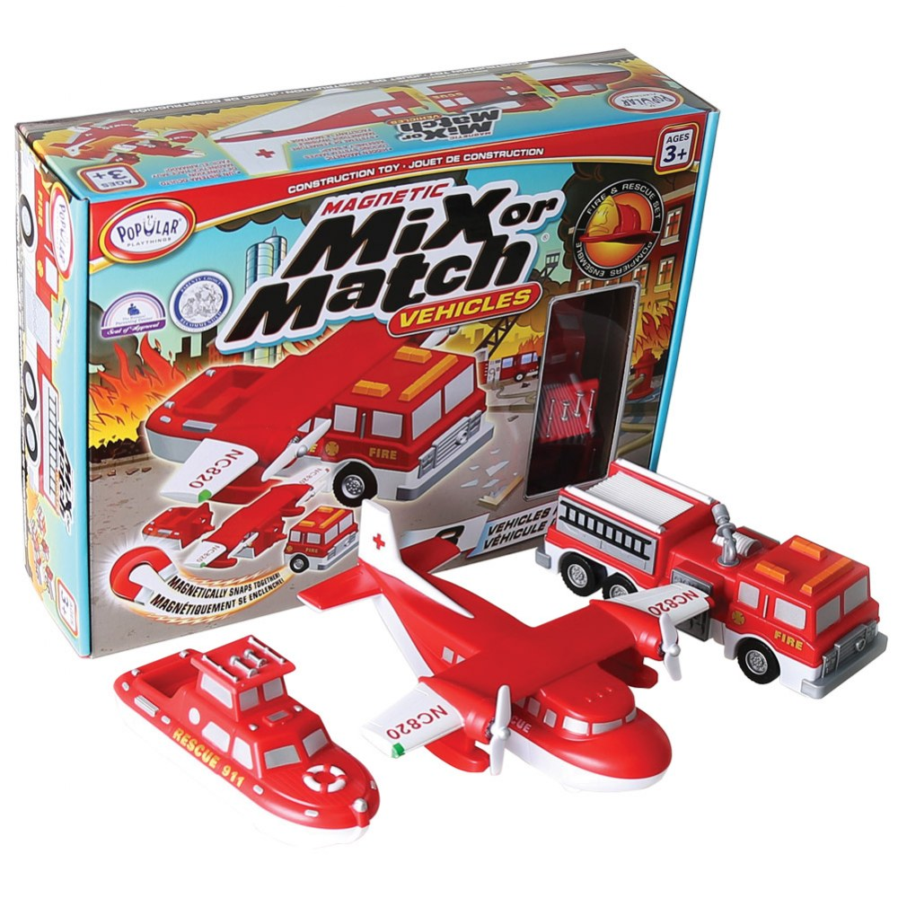 Mix or Match: Rescue Vehicle® Set