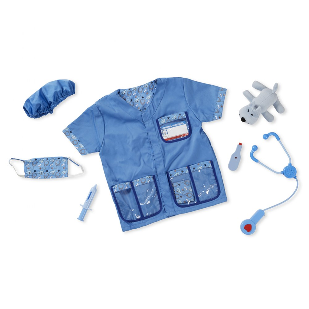 Alternate Image #20 of Veterinarian Dress Up & Accessories Playset