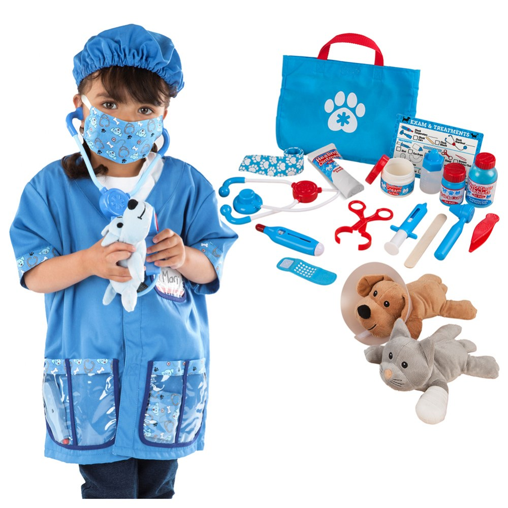 Veterinarian Dress Up & Accessories Playset