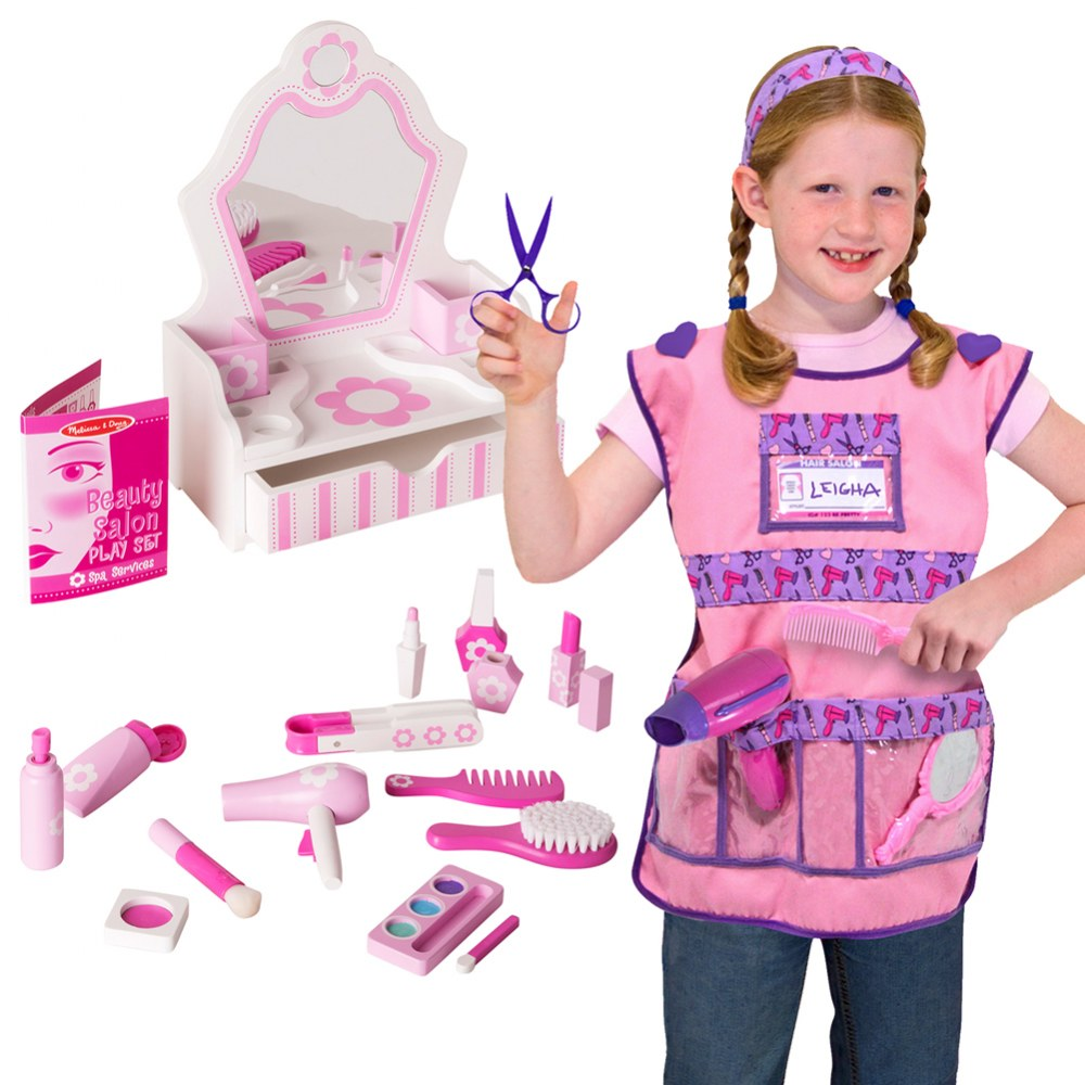 Beauty Salon & Hair Stylist Dress Up Set