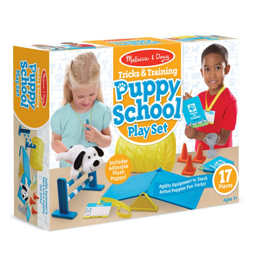 Alternate Image #1 of Tricks & Training Puppy School Play Set