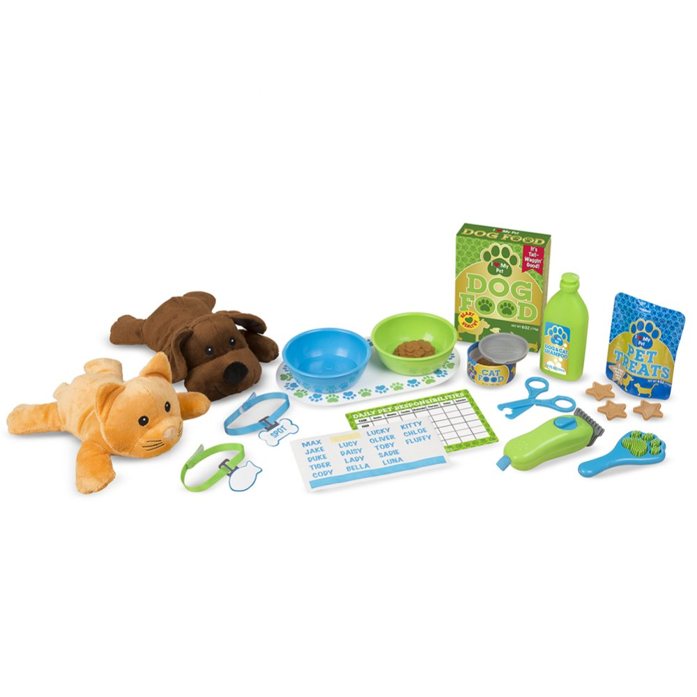 Feeding & Grooming Pet Care Playset