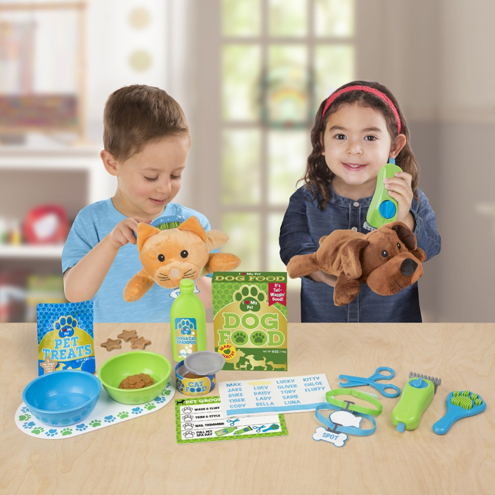 Alternate Image #2 of Feeding & Grooming Pet Care Playset