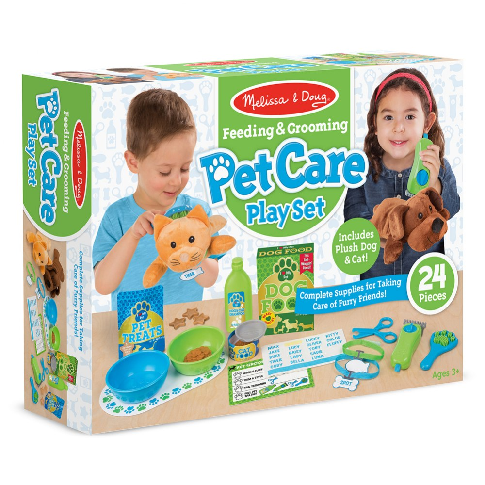 Alternate Image #3 of Feeding & Grooming Pet Care Playset