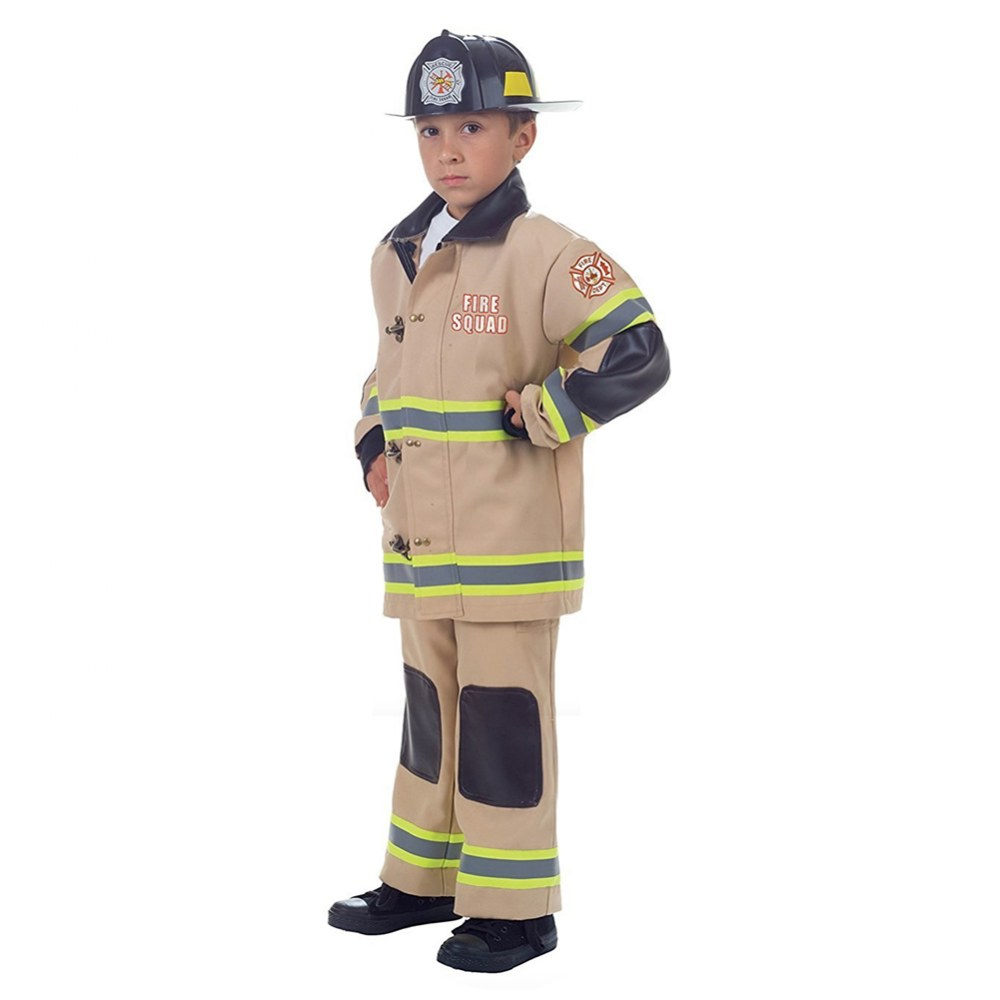 Firefighter Dress Up - Tan