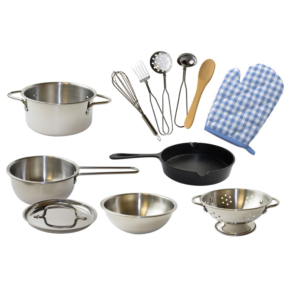 Pop-Oh-Ver™ Deluxe Kitchen Set - 12 Piece Set
