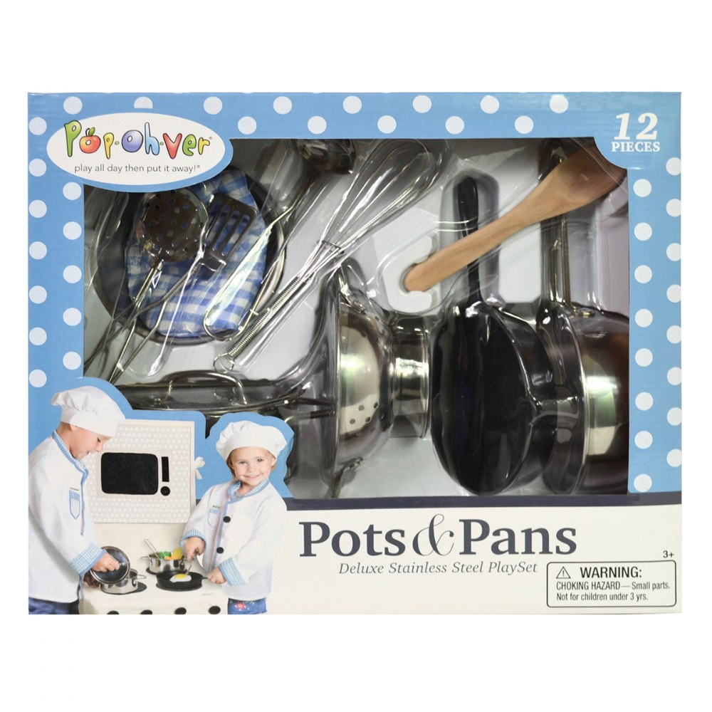 Alternate Image #4 of Pop-Oh-Ver™ Deluxe Kitchen Set - 12 Piece Set