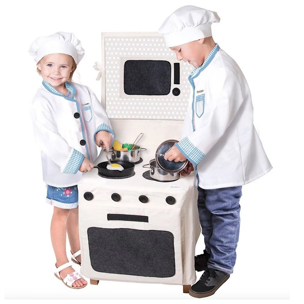 Alternate Image #3 of Pop-Oh-Ver™ Deluxe Kitchen Set - 12 Piece Set
