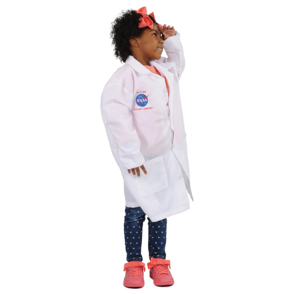 Alternate Image #1 of Child's Rocket Scientist Lab Coat Size 8 - 10