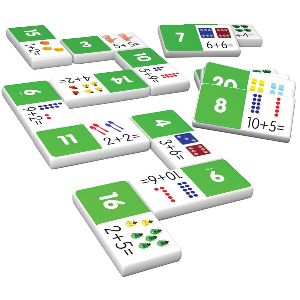 Alternate Image #7 of Addition & Subtraction Dominoes
