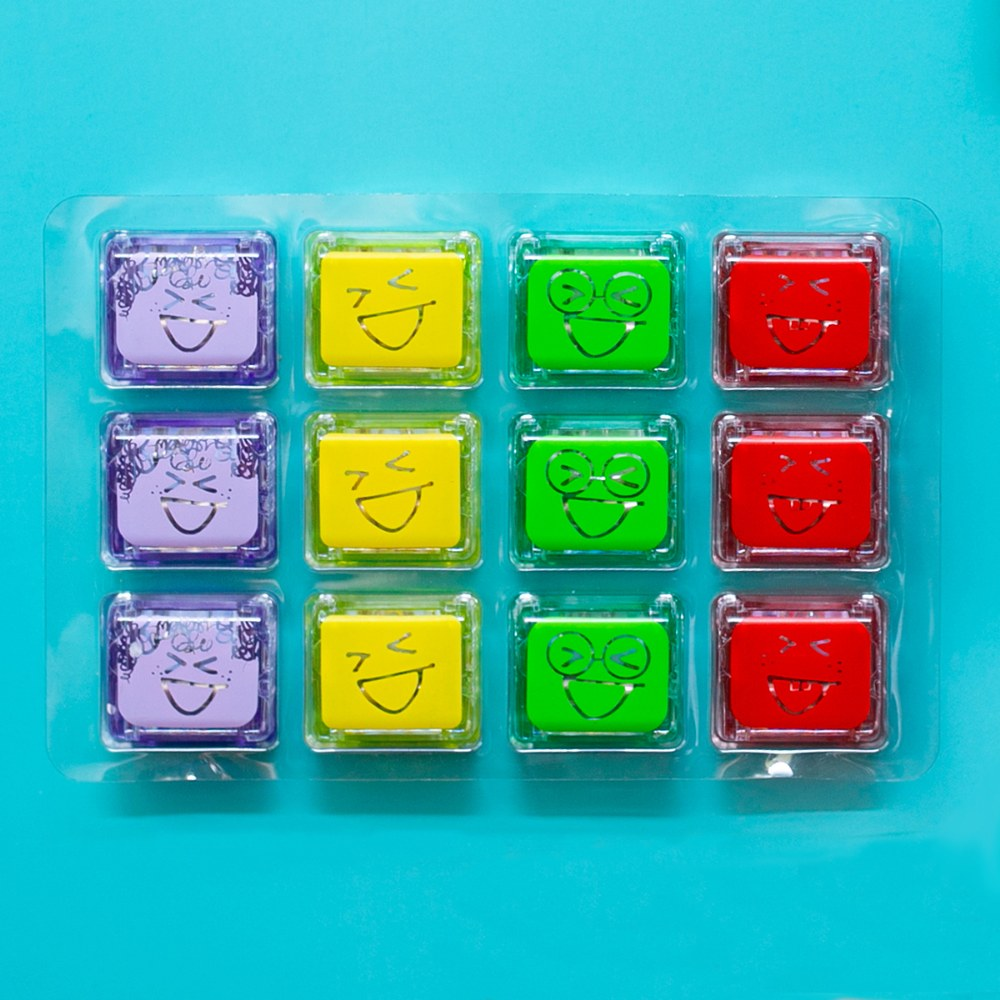 Alternate Image #1 of Glo Pals Light Up Water Cubes - Tray of 12