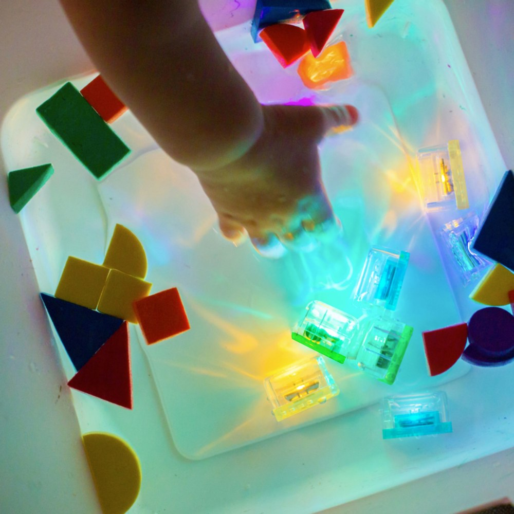Alternate Image #4 of Glo Pals Light Up Water Cubes - Tray of 12