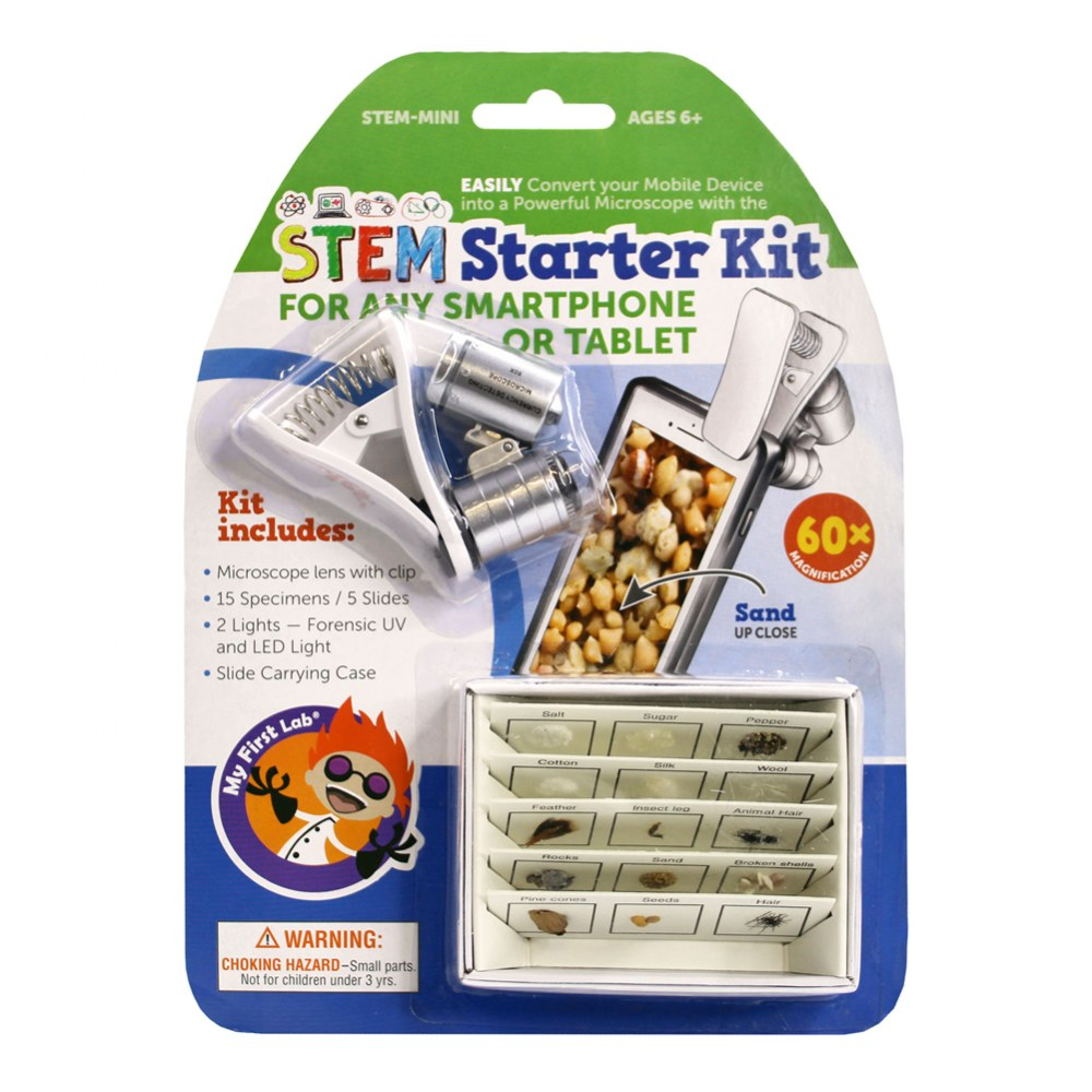 Alternate Image #2 of STEM Starter Kit, Slides & Microscope Accessories