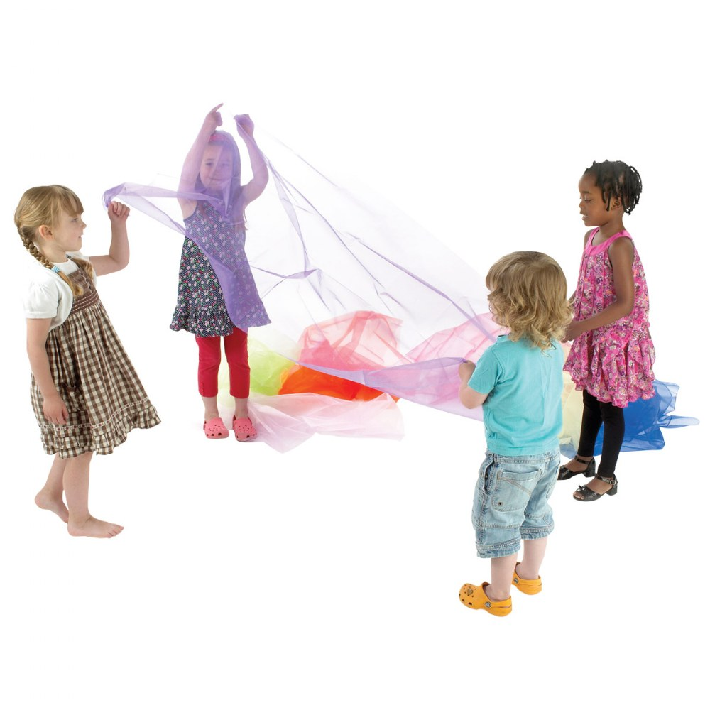 Alternate Image #3 of Pretend Play Organza Fabric - 7 Colors