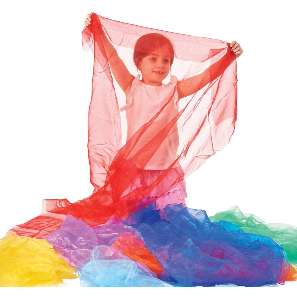 Alternate Image #4 of Pretend Play Organza Fabric - 7 Colors