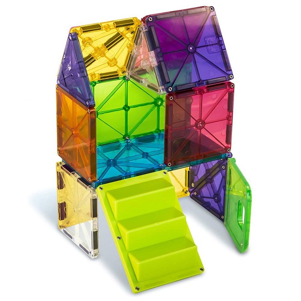Alternate Image #1 of Magna-Tiles® 28-Piece Mixed Colors House Set