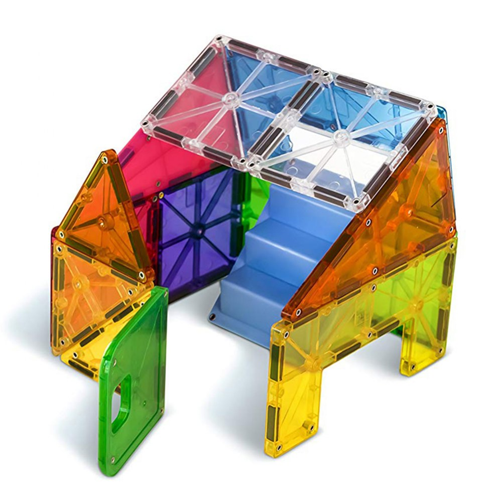 Alternate Image #2 of Magna-Tiles® 28-Piece Mixed Colors House Set
