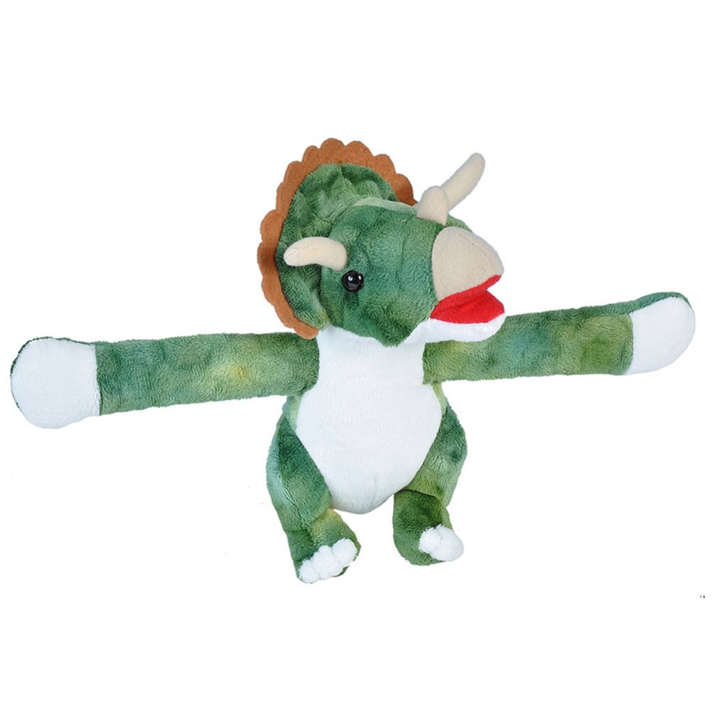 Alternate Image #5 of Huggers Plush Dino T-Rex, Pteranodon, and Triceratops