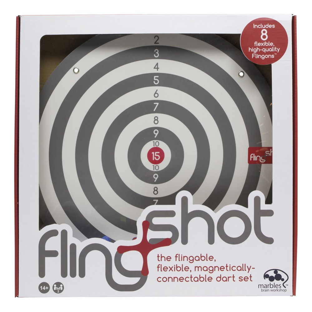 Alternate Image #1 of Flingshot Magnetic Dart Target Game