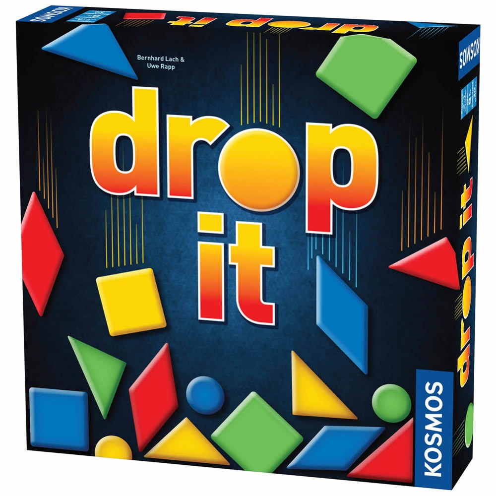 Alternate Image #1 of Drop It Game - Super Fun Family Strategy Game - Play as Individuals or Teams