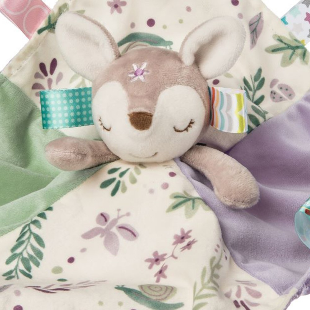 Alternate Image #1 of Taggies™ Flora Fawn Character Blanket & Crinkle Me