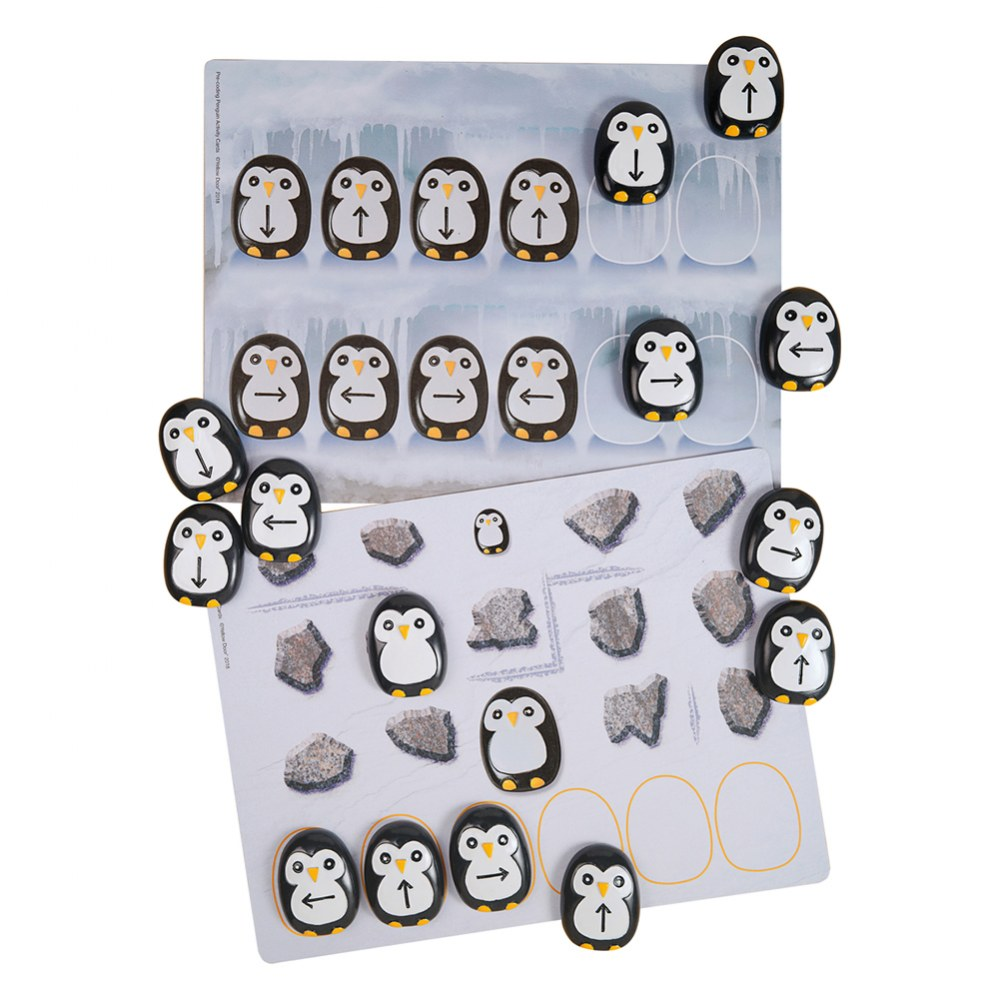 Pre-Coding Penguin Stones & Activity Cards