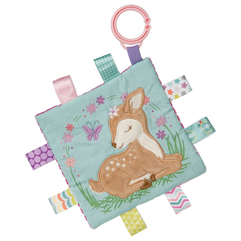 Alternate Image #9 of Taggies™ Flora Fawn Character Blanket & Crinkle Me