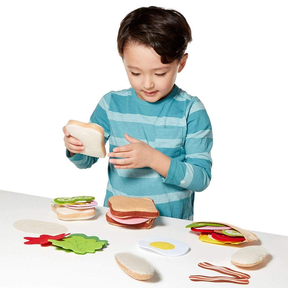 Bologna Sandwich Playfood Set