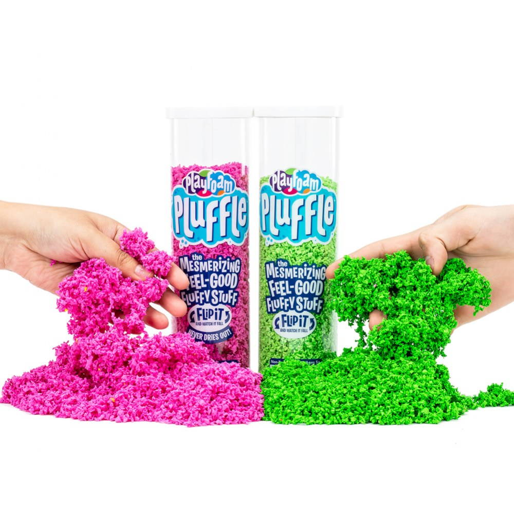 Alternate Image #1 of Playfoam Pluffle Basic Colors - 6 Pack