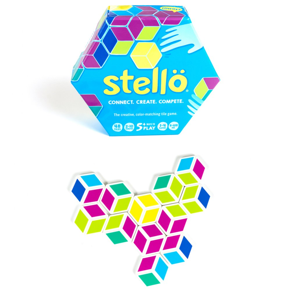 Stello Hexagon Color Matching Game